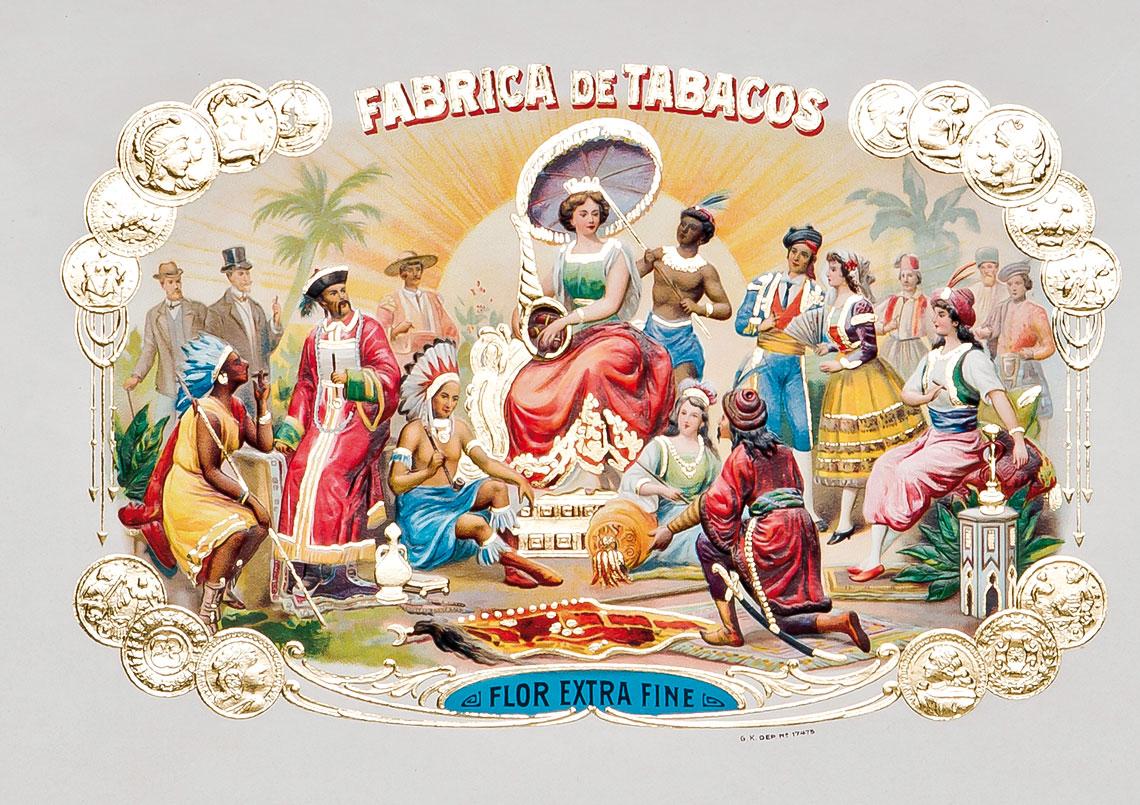 Beispiele kubanischer Lithographietechnik I