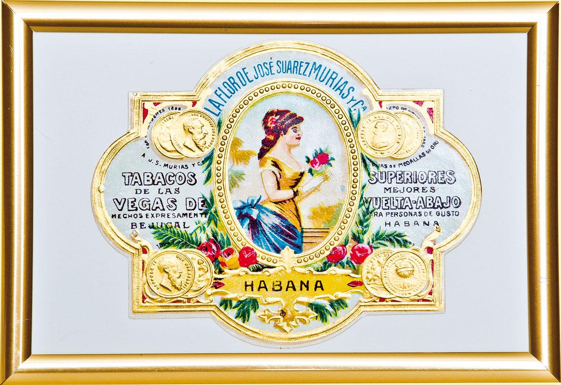 längst vergangene Zigarrenmanufaktur